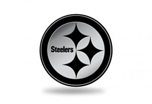 Rico Industries NFL Pittsburgh Steelers Chrome Finished Auto Emblem 3D Sticker from Rico Industries