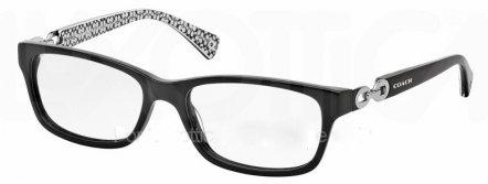 Coach Women's HC6052 Eyeglasses Black/Black White Sig C - Coach Frames Black Eyeglasses