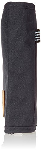 Lässig Erste-Hilfe-Set für Arzneimittel Gobuli Pflaster Netztasche mit Reißverschluss Halterung aus Gummiband ohne Inhalt First-Aid-Kit, Ebony Dunkel Grau S.o.s Ebony