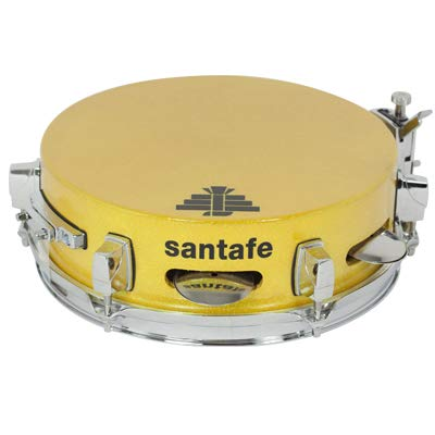 CAJA SONAJAS TOP WOOD 25X8 REF.CL001 SPARKLE AMAILLO by Santafe Drums