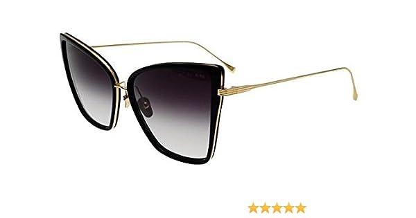 7c8b4840690 Sunglasses Dita SUNBIRD 21013 A-BLK-GLD Black18K Gold w  Dark Grey to  Clear-AR at Amazon Men s Clothing store