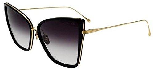 95ebb02a7ac Sunglasses Dita SUNBIRD 21013 A-BLK-GLD Black18K Gold w  Dark Grey ...