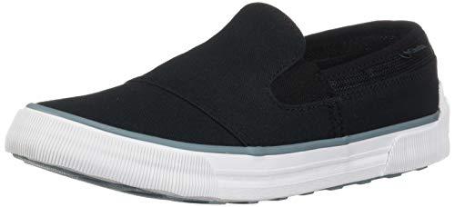 Columbia Women's GOODLIFE TWO GORE SLIP Sneaker, Black, Storm, 7 Regular US