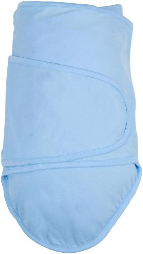 Miracle Blanket Swaddle for Baby Boys, Blue, Newborn to 14 - Blankets Swaddler Blue Baby