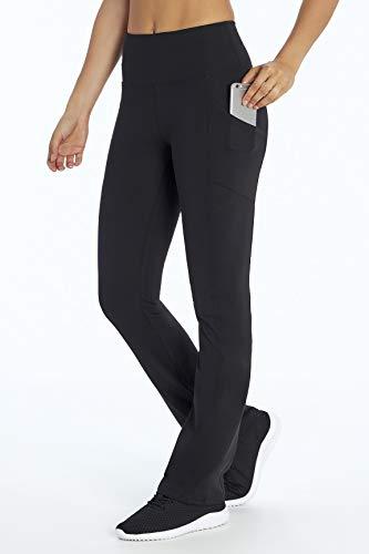 Marika Eclipse Tummy Control Bootleg Legging, Black, Small