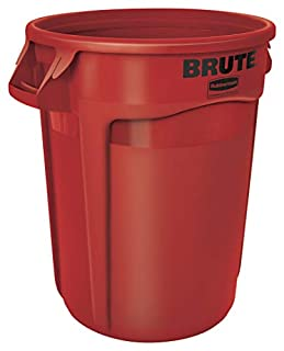 Rubbermaid Commercial BRUTE Trash Can, 32 Gallon, Red, FG263200RED (B0002ZWKQK) | Amazon price tracker / tracking, Amazon price history charts, Amazon price watches, Amazon price drop alerts