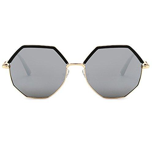Tienden B Moda De Marco Del Polarizadas De Redondo Señoras La Sol XGLASSMAKER Gafas Las fzOxqw0