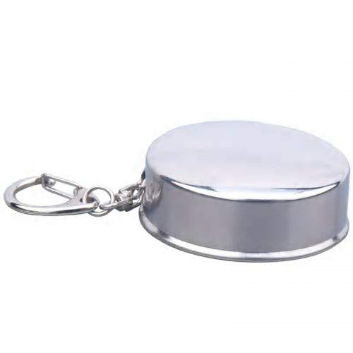 Stainless Steel Collapsible Metal Cup, Free