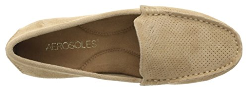 Aerosoles Frauen Over Drive Slip-On Loafer Hellbraunes Wildleder