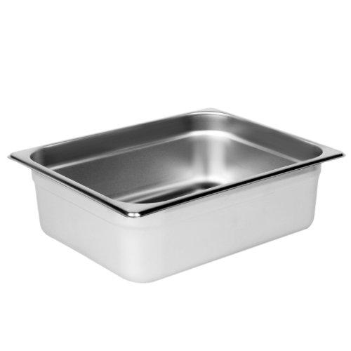 Excellante Half Size 4-Inch Deep 24 Gauge Anti Jam Pans ()