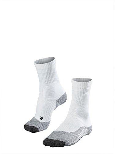 Falke TE 2 - Calcetines de tenis para hombre Gris (Grau) (Grau)