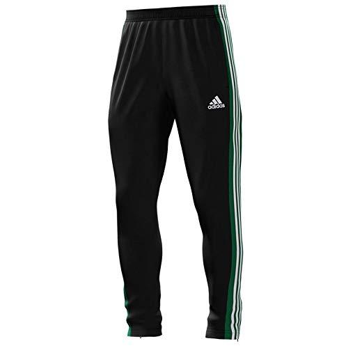 adidas Mi Mi Team 18 Training Pants - Adult - Black/Green/White - M ()