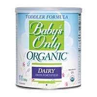 Babys Only Organic (Natures One) Toddler Form, Organic Kosher, 12.7 Oz - 3 Pack