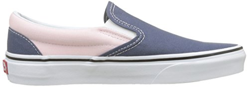 Classic Slip Pink Baskets vintage Femme Enfiler chalk on Multicolore Qf5 Indigo Vans B6wq4B