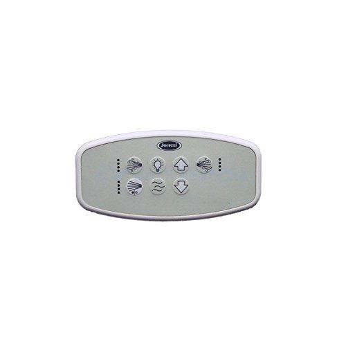 Jacuzzi Fuzion D4-Luxury Control Panel, White by Jacuzzi