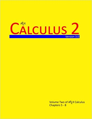 Calculus 2 apex calculus v30 volume 2 dr gregory hartman calculus 2 apex calculus v30 volume 2 dr gregory hartman 9781514226063 amazon books fandeluxe Image collections