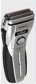 Afeitadora eléctrica a rejilla doble hoja etanche plata: Amazon.es ...