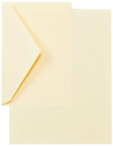 Crane CH3116 Ecruwhite Half Sheets,40 sheets / 20 envelopes