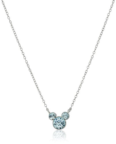 Disney Crystal Birthstone Pendant Necklace