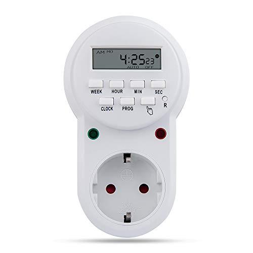 Heavy Duty Digital Programmable Timer for LED Grow Light
