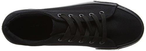 New Look Molossal-Double Sole, Zapatillas de Estar por Casa para Mujer Negro (Black)