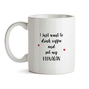 Utonagan Gift Mug - AA196 Funny Dog Lover Coffee Cup For Mom Grandma Women Her Trainer Owner Breeder Caffeine Ceramic Novelty Present 4