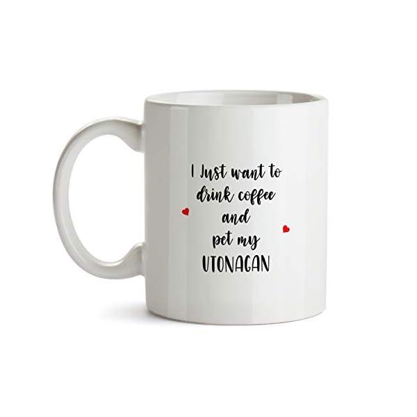 Utonagan Gift Mug - AA196 Funny Dog Lover Coffee Cup For Mom Grandma Women Her Trainer Owner Breeder Caffeine Ceramic Novelty Present 1