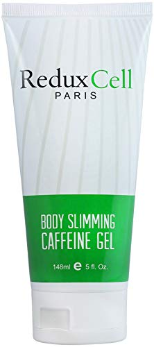 ReduXCell Fat Burning Cream For Belly -Burn Fat 3X Faster- Anti Cellulite Cream with Double Caffeine, Hyaluronic Acid, Sea Grape - Body Firming Cream and Cellulite Remover. (Exercises To Tone Thighs And Bum Quickly)