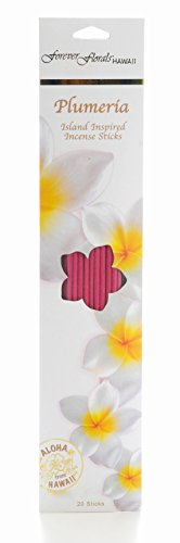 Incense Sticks, Plumeria, 20/Pk