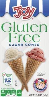 Joy Gluten Free Sugar Ice Cream Cones (3) by Joy