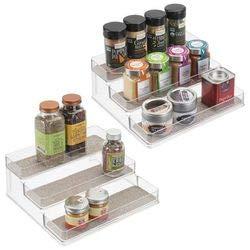 mDesign 2er-Set Gewürzregal für Küchenschrank – praktische ...