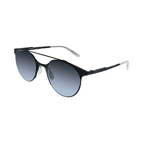 Carrera 115/s Round Sunglasses, Matte Black/Gray Gradient, 50 ()