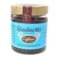 Caffarel Premium Dark Gianduia Cream Hazelnut Spread 210gr, Imported from Italy