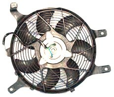 TYC 610860 Nissan Replacement Condenser Cooling Fan Assembly