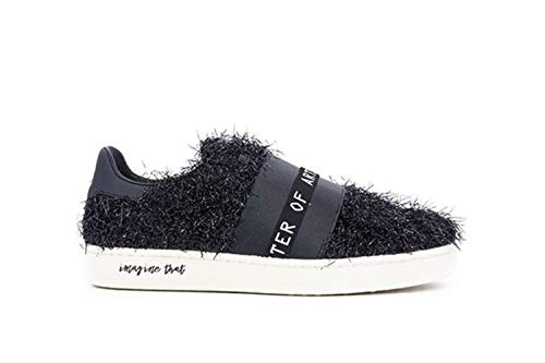 Furry Donna Sneakers M928 Nero Moa tawq6c