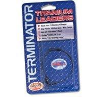 Terminator Braided Titanium Leader (50-Pounds, 6-Inch) ()