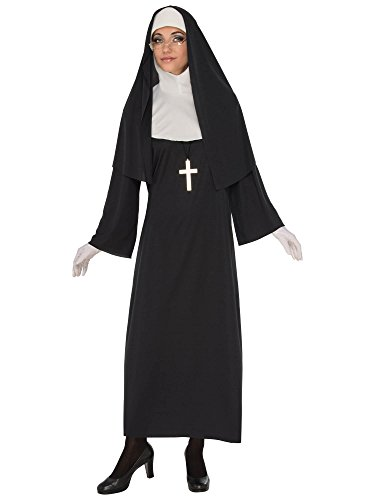 (Rubie's Costume 821062-S Co Women's Nun, Black/White,)