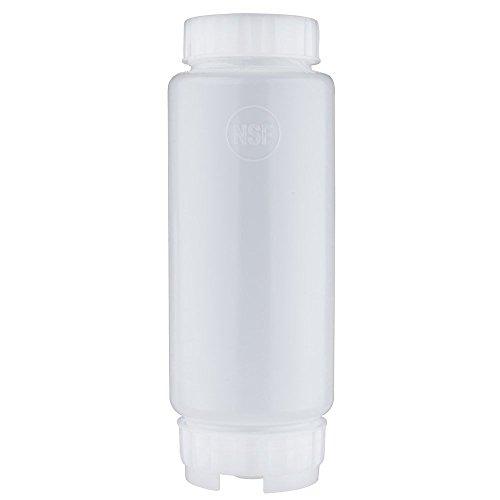 FIFO Sauce Squeeze Bottle Colour: White. Capacity: 591ml (20oz) Fifo Squeeze Bottles