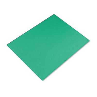Colored Four-Ply Poster Board, 28 x 22, Kelly Green, 25/Carton, Sold as 25 (Colored Four Ply Poster Board)