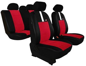 Housse de siè ge de voiture universelles GT8 (ECO-CUIR + ALKANTARA ) - pour CITROEN (AX - BX - C3 - C4 - C5 - CX - SAXO - XANTIA - XM - XSARA - ZX) (Verte) pokter