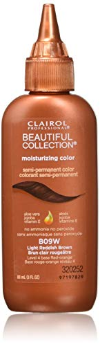 Clairol Professional Beautiful Collection Semi-permanent Hair Color, Light Reddish Brown (Brown Hair With Blonde And Auburn Highlights)