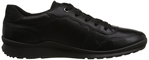 Top Schwarz ECCO Low DARKSHADOWMET IIIDamen 59266 Mobile BLACK BLACK Sneakers r7XqXtHw