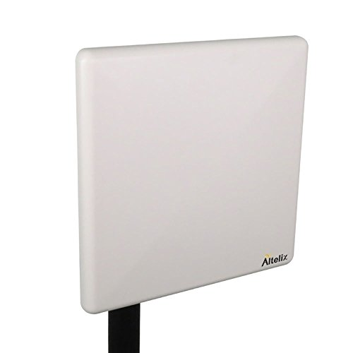 Altelix 2.4GHz 20dBi WiFi Panel Antenna with Mast Mount (Outdoor Directional Hotspot 2.4 GHz)