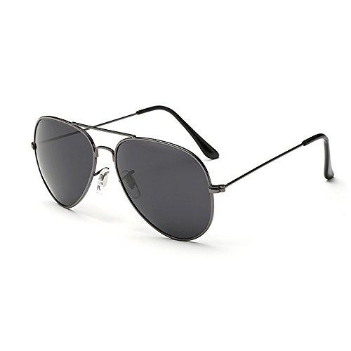 TL Sol Gafas Gafas Puntos polarizadas Grey de UV400 Gafas C7 Sol de Espejos de de para Gafas Guía polarizadas 100 Hombres C2 Plata Sunglasses Sol Macho Negros JF6203 Hombres Frame JF6203 gqn0Ewarg