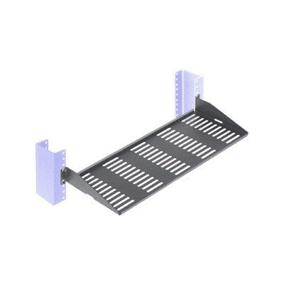 INNOVATION RackSolutions rack shelf (ventilated) - 1 U (1USHL-022HALF-7UV)