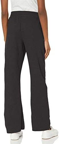 31tBm1Cd2BL. AC Hanes Women's EcoSmart Sweatpant – Regular and Petite Lengths    Hanes women's fleece sweatpantsare made to move, even when you're just chilling out. More than warm and cozy, the open-bottom leg hems provide ease of movement. Available in a variety of colors