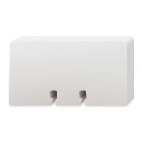 Rolodex Rotary File Cards, Plain, 2-1/4''x4'', 100/PK, White (67558)