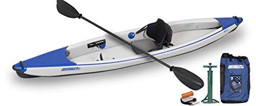Sea Eagle Razorlite 393rl Inflatable Kayak Pro Carbon Solo Package