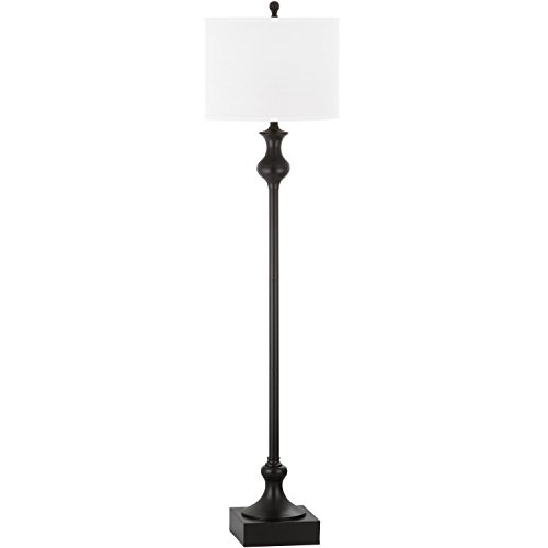 Collection Bronze Floor Lamp - Safavieh Lighting Collection Brewster Oil-Rubbed Bronze 61.5-inch Floor Lamp