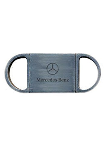 Genuine Mercedes Benz Guillotine Gun Metal Cigar Cutter
